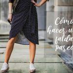 DIY Como hacer una falda pareo