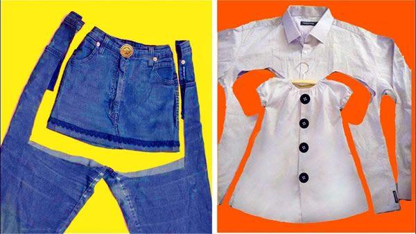 Ideas increíbles para transformar ropa para niños
