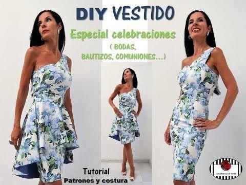 DIY Vestido de fiesta elegante con dos piezas