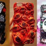 DIY Fundas y carcasas 3D de Halloween para móviles