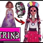 Transforma Barbie en Catrina