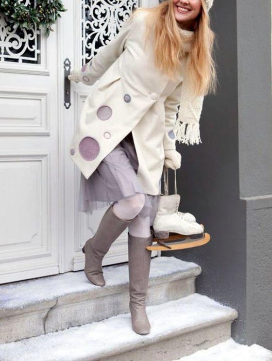 Abrigo de invierno para mujer