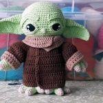 DIY Baby Yoda en amigurumi crochet