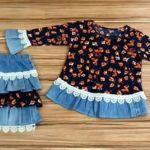 DIY Conjunto de niña reciclando tu ropa
