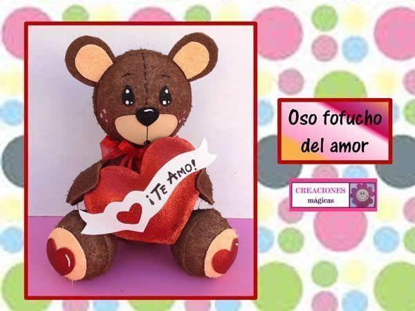 DIY Oso Fofucho enamorado