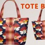 DIY Bolso-Bolsa fácil con bolsillos laterales