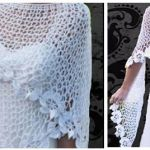 DIY Chal tejido a crochet fácil