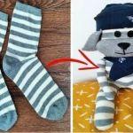 DIY Peluche con calcetines