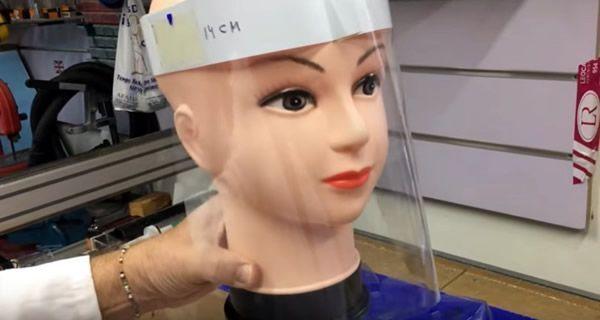 DIY Pantalla protección facial
