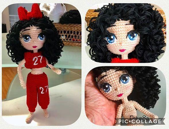 DIY muñeca amigurumi Ana