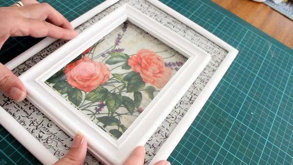 Ideas para renovar marcos o cuadros