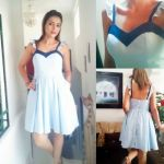 DIY Vestido De Moda con Falda Circular