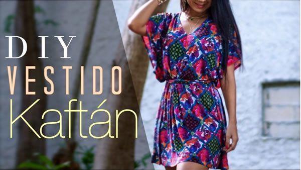 DIY Vestido Kaftan muy fácil