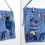 DIY Soporte clasificador jeans de pared
