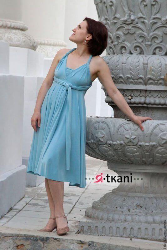 Como hacer un vestido multiusos fácilmente