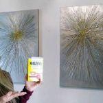 DIY Cuadros para decorar hechos con maicena