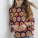 DIY Jersey granny en colores llamativos