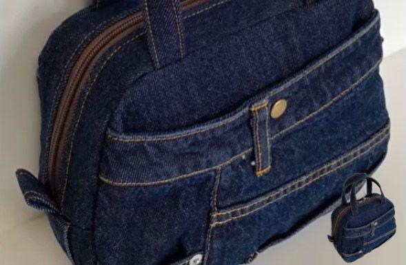 Bolso vaquero reciclado de un Jeans