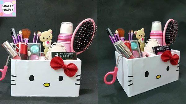 Organizador de escritorio Hello Kitty