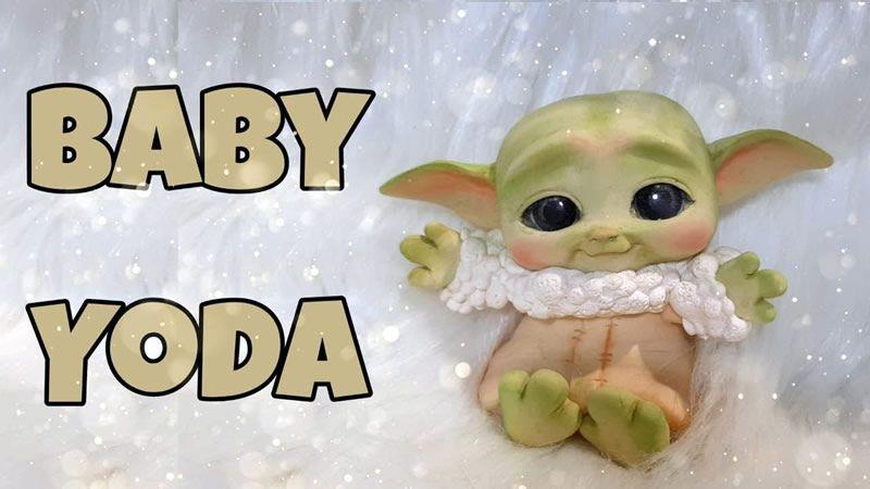 Baby de STAR WARS en porcelana fría