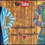 Cárdigan con gorro a crochet tutorial