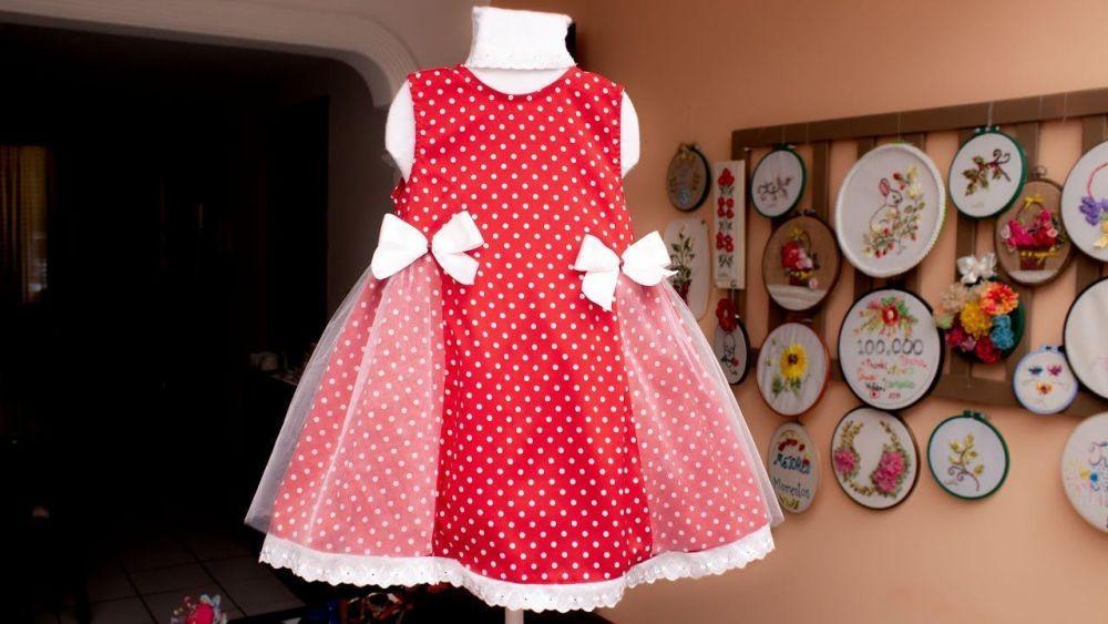 Vestido para niña fácil de hacer