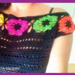 Blusa Frida a Crochet Boho Style