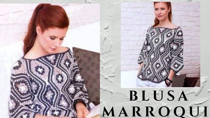 Blusa marroquí especial primavera