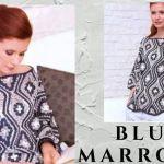 Blusa marroquí a crochet especial primavera