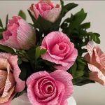 Rosas de papel tutorial paso a paso