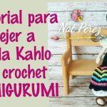 Frida Kahlo muñeca amigurumi paso a paso