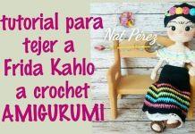 Frida Kahlo amigurumi paso a paso