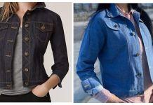 Patrón y confección de chaqueta vaquera