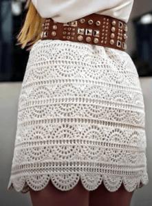 Falda de verano a crochet muy fácil cualquier talla paso a paso