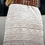 Falda de verano a crochet muy fácil