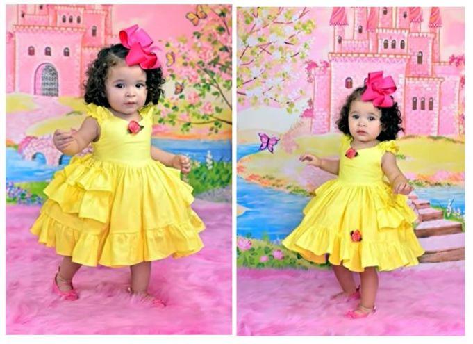 DIY Vestido para niñas patrón y confección