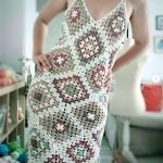 DIY Vestido Granny tejido a crochet paso a paso