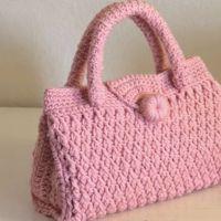 DIY Bolso a crochet en punto 3D paso a paso