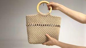 DIY Bolso de mano en macramé