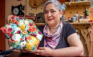 DIY Cojín Flor muy decorativo paso a paso