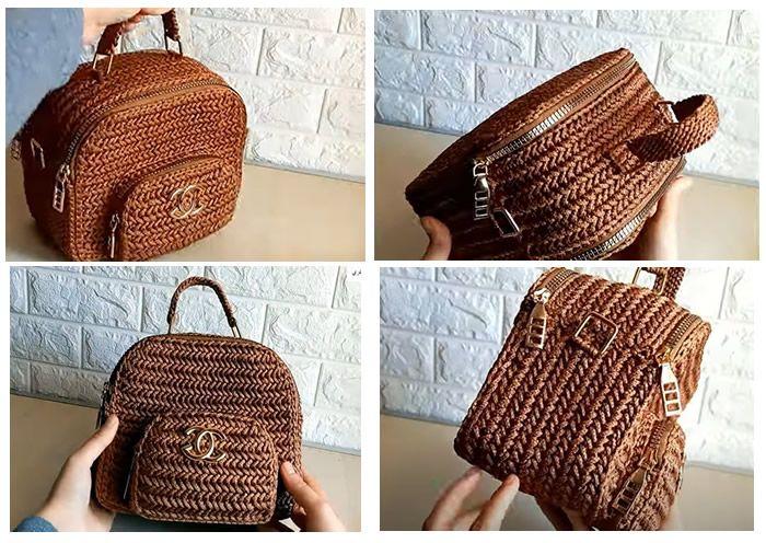 DIY Bolso elegante a crochet paso a paso
