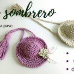 Mini sombrero a crochet paso a paso