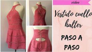DIY Vestido crochet fácil para mujer