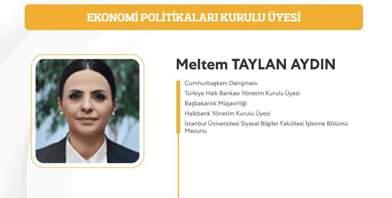 m0620201045103096210 - Merkez Bankası'na atanan yeni isim Erdoğan'ın başdanışmanı Meltem Taylan Aydın'ın eşi çıktı!