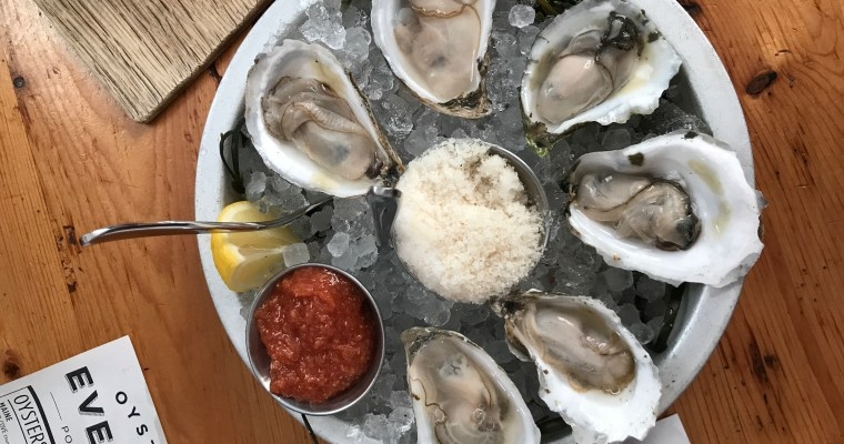 Eventide Oyster Company, Portland, Maine