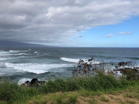 Road to Hana: Ho'okipa Beach in Maui, Hawaii. #RoadtoHana #RoadtoHanawithKids #Maui #MauiwithKids #Hawaii #Hawaiiwithkids #surfing #ocean