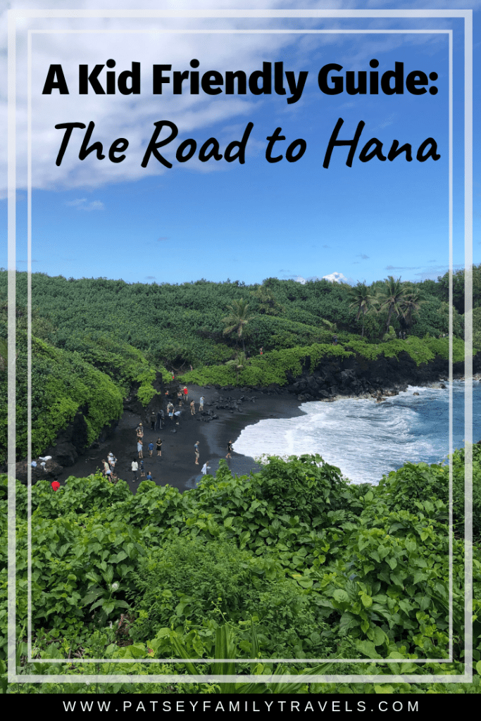 Best Kid friendly stops on the Road to Hana #roadtohana #roadtohanawithkids #maui #mauiwithkids #hawaiiwithkids #hawaii #hikemaui
