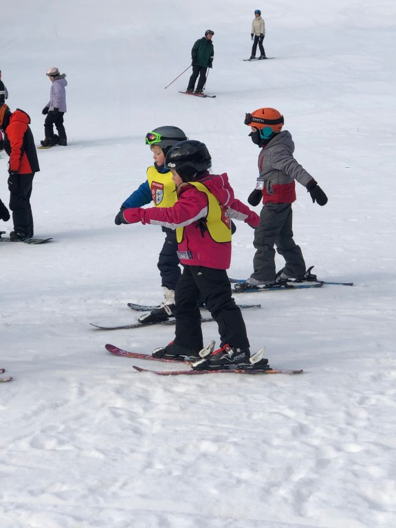 West Mountain, NY Ski Lessons #skischool #westmountain #skiNY #upstateNY #skiingkids