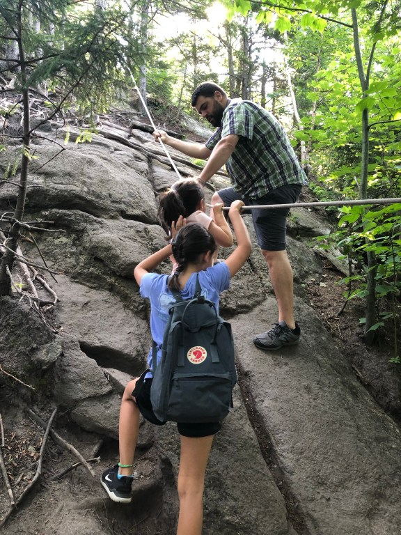 Cobble Hill Lake Placid #lakeplacid #hikewithkids #adirondacks #hiking #adventurefamily