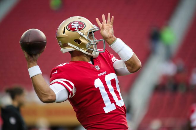 NFL RUMORS: Garoppolo Staying Put?  That's What it Sounds Like